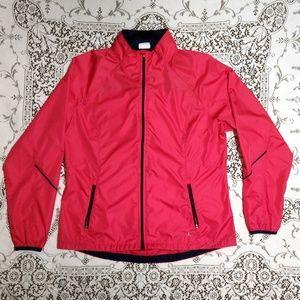 Danskin Now Pink Windbreaker Jacket Size L (12-14)